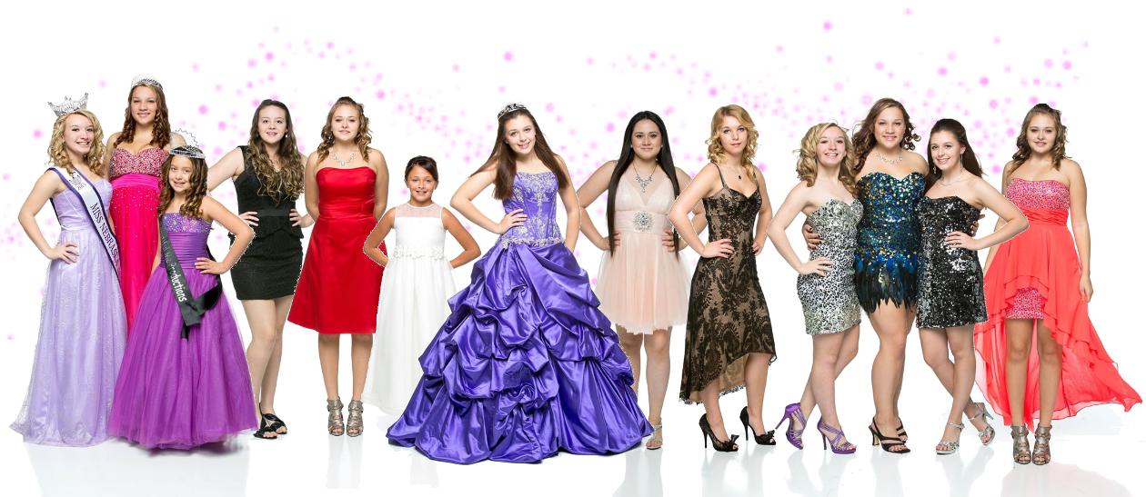 dress lineup