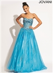Jovani 6107 Colors: Turquoise Sizes 0, 14