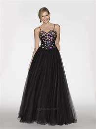 BG Haute Prom jeweled Black sz 10