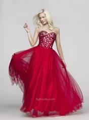 BG Haute Prom jeweled Red sz 0