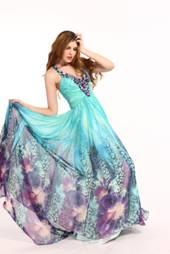 Angela & Alison Prom Flower dress sz 12 & 16